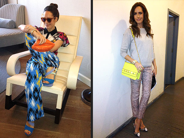 Louise Roe outfits NYFW