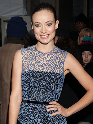 Olivia Wilde Fashion Week