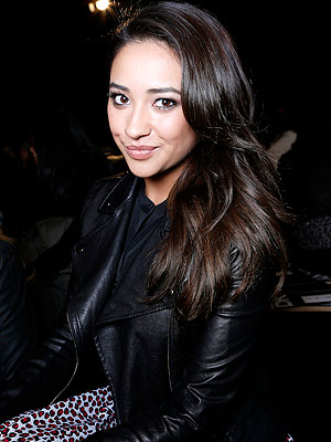 Shay Mitchell Fashion Week