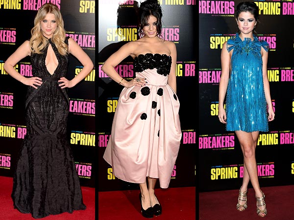 Selena Gomez, Vanessa Hudgens, Ashley Benson Spring Breakers