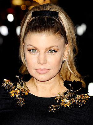 Fergie Hair Ponytail