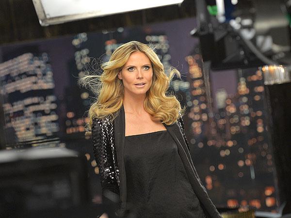 Heidi Klum Clear Hair