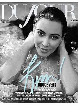 Kim Kardashian Du Jour Cover