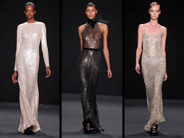 Naeem Khan gowns