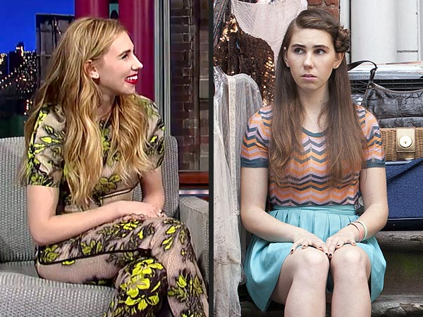Zosia Mamet Blonde, Shoshanna Girls