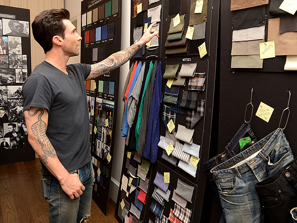 Adam Levine Clothing Line