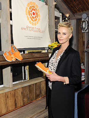 Charlize Theron for TOMS