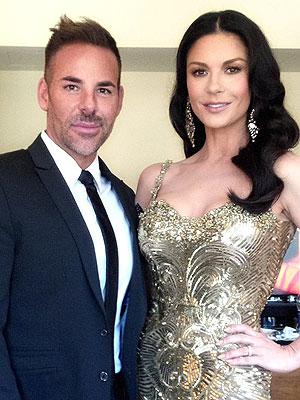 Catherine Zeta Jones, Scott Barnes Oscars