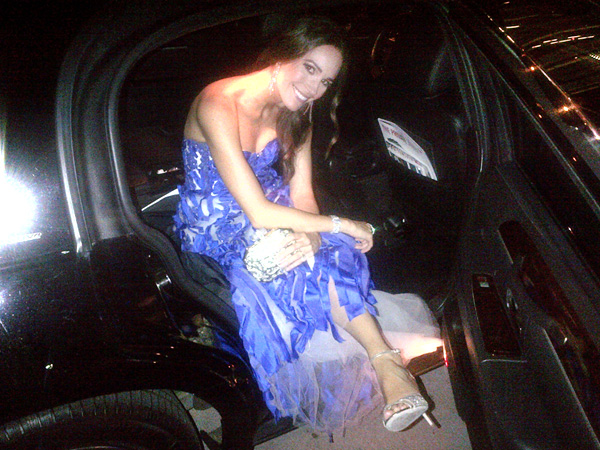 louise roe 600x450 Louise Roe Dishes on Her Oscar Night Out!