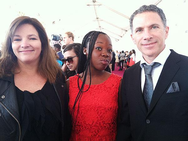 Oscars 2013 Rachel Mwanza