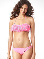 American Eagle fringe bikini