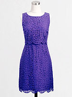 Purple J. Crew dress