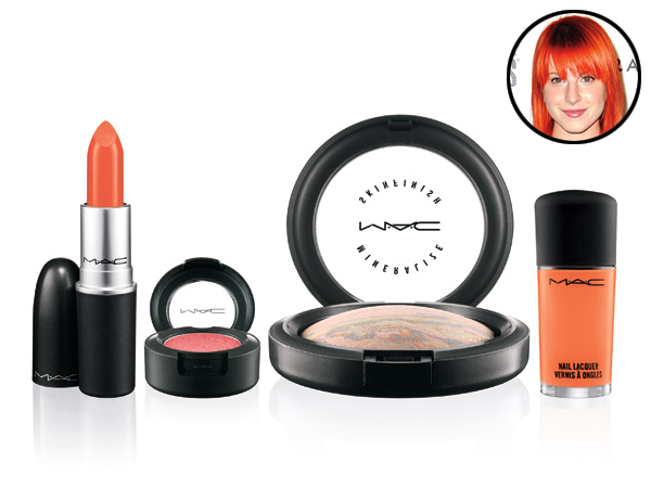 Hayley Williams Paramore MAC collection