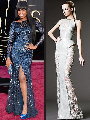 Jennifer Hudson Oscars gown
