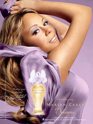 mariah carey 300x400 Mariah Carey: I Call Myself a Perfumer in Training