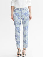 Banana Republic jacquard pants