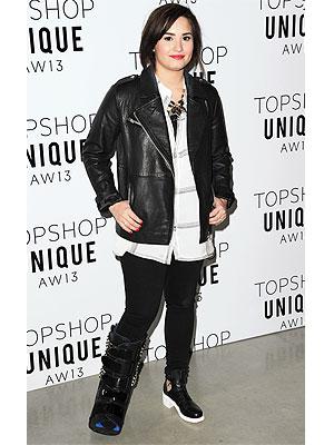 Demi Lovato boot