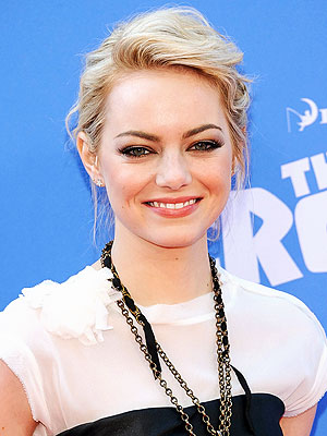 Emma stone blonde