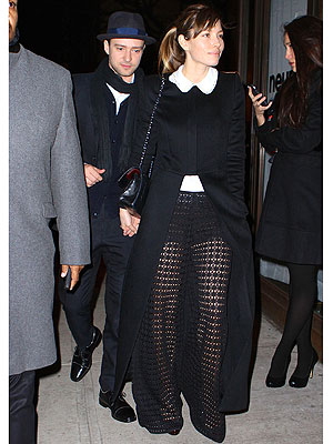 Jessica Biel pants