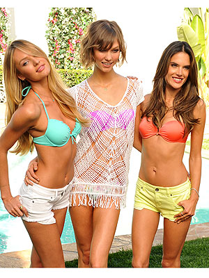 Victoria's Secret bikini models