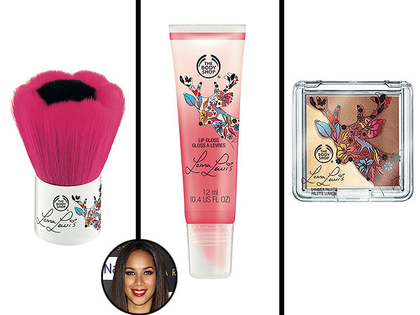 Leona Lewis makeup Body Shop