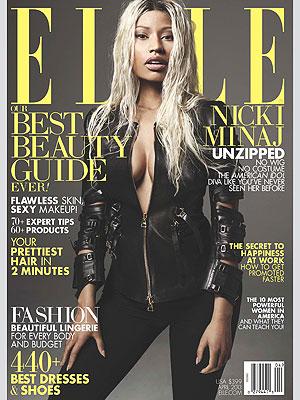 Nicki Minaj Elle makeunder