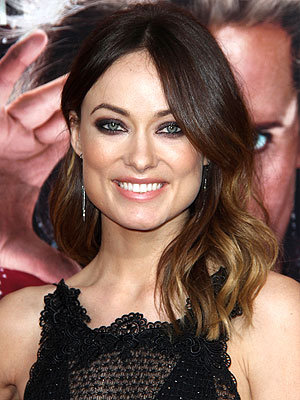 Olivia Wilde smoky eye makeup