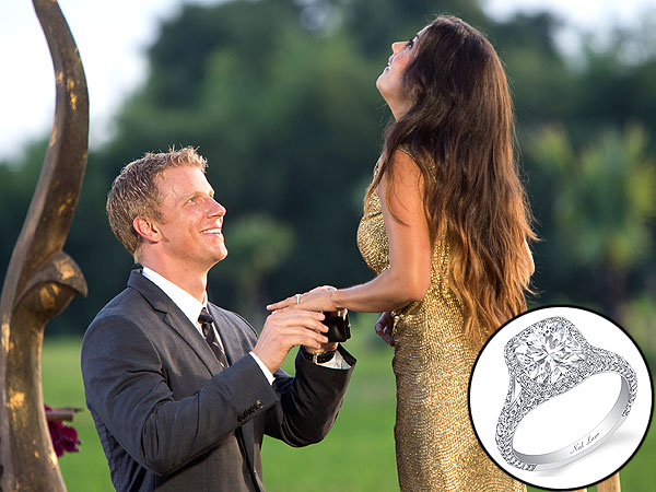 Bachelor Sean Lowe Catherine engagement ring