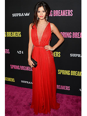 selena gomez 300x400 The Look Everyones Loving This Week: Selena Gomezs Red Gown