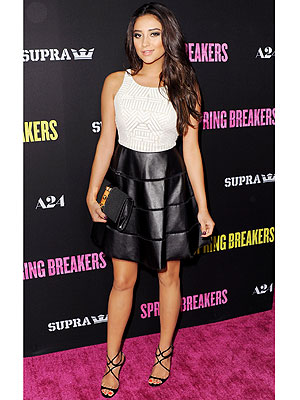 Shay Mitchell dress