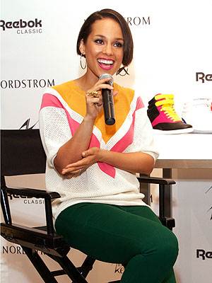 Alicia Keys Reebok