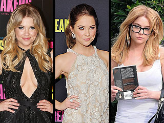 Ashley Benson: From Blonde to Brunette to Blonde Again in 14 Days