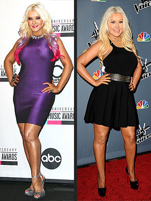 Christina Aguilera makeover