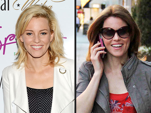 Elizabeth Banks hair color change