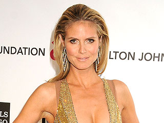 Turns Out Heidi Klum Made That Eye-Popping Oscars Gown More Modest