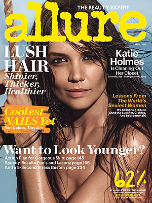 Katie Holmes Allure Cover