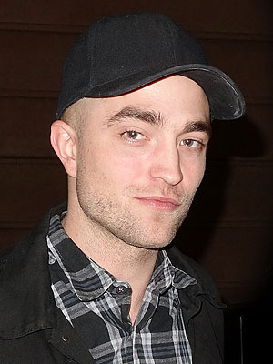Robert Pattinson hair, shaved head