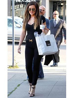 Khloe Kardashian shoes