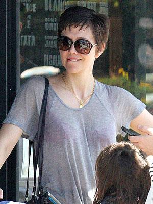 Maggie Gyllenhaal short hair