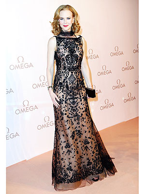 Nicole Kidman red carpet gown