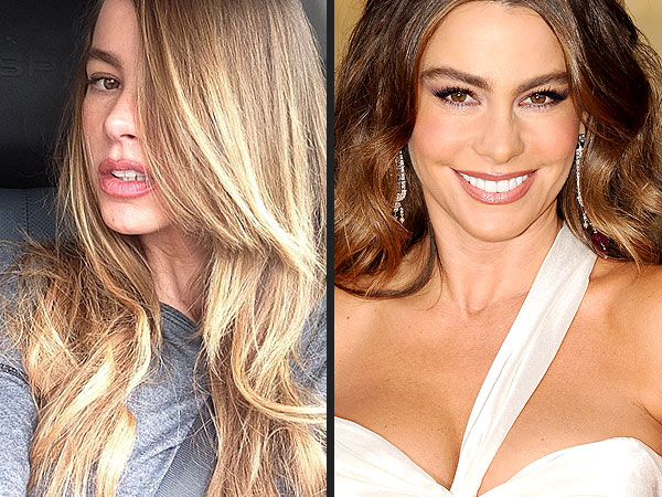 sofia vergara 600x450 Sofia Vergara Is a Blonde!