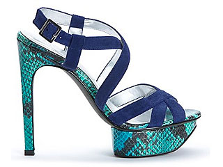 Calvin Klein colorful heels