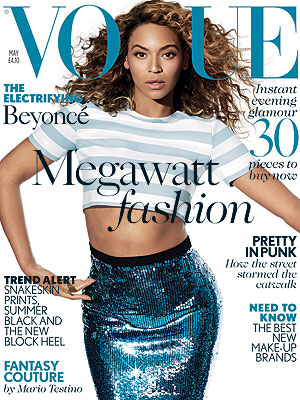 Beyonce Vogue UK