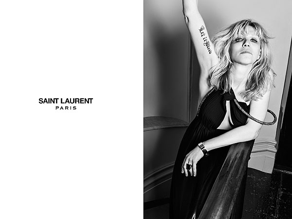 Marilyn Manson, Courtney Love Saint Laurent