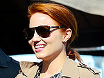 Check Out Dianna Agron's New Red Hair