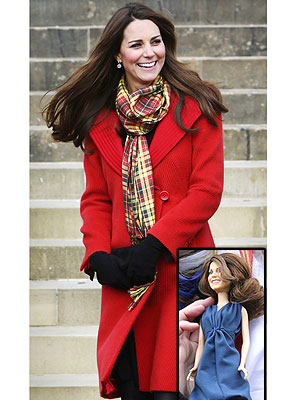 Duchess of Cambridge Meets Lookalike Doll