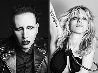 What the What: Marilyn Manson and Courtney Love Are Fashion Models?