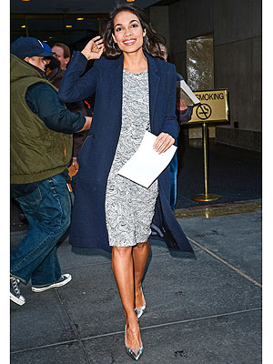 Rosario Dawson Today Show