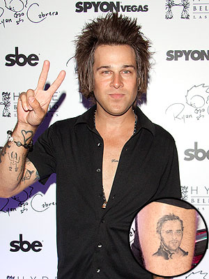 Ryan Cabrera Ryan Gosling Tattoo