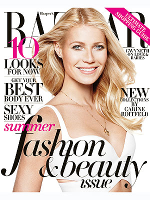 Gwyneth Paltrow Harper's Bazaar cover Botox